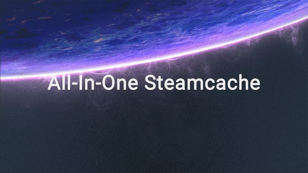 The new and easier, all-in-one Steamcache